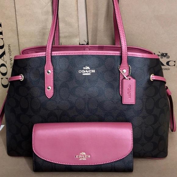 b859a86193 Coach Handbags - Coach bag and wallet set